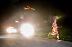 Primoz Kobe at 10th Nocna 10ka 2016, traditional run around Bled's lake, on July 09, 2016 in Bled,  Slovenia. Photo by Vid Ponikvar / Sportida