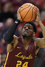 20180110 Loyola Chicago at Illinois State men's basketball photos