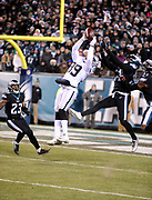 Dec 25, 2017; Philadelphia, PA, USA; Oakland Raiders wide receiver Amari Cooper (89) during a NFL football game at Lincoln Financial Field. The Eagles defeated the Raiders 19-10. Photo by Reuben Canales