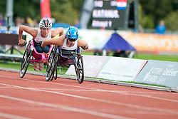 COCKROFT Hannah, NICHOLLS Melissa, 2014 IPC European Athletics Championships, Swansea, Wales, United Kingdom