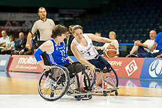 September 6th 2015 - FRA v GBR Women's Bronze Medal Match