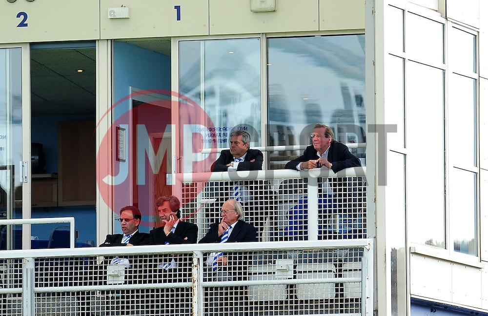 Bristol Rovers chairman Nick Higgs guest was Mayor George Ferguson - Photo mandatory by-line: Neil Brookman - Mobile: 07966 386802 23/08/2014 - SPORT - FOOTBALL - Bristol - Memorial Stadium - Bristol Rovers v AFC Telford - Vanarama Football Conference