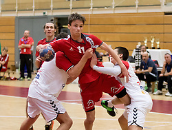 05.11.2016, SPORT. ZENTRUM Niederösterreich, St. Pölten, AUT, Invitational, Österreich vs Serbien, im Bild Paul Pfeifer (AUT)// during the Invitational match between Austria and Serbia at the SPORT. ZENTRUM Niederösterreich, St. Pölten, Austria on 2016/11/05, EXPA Pictures © 2016, PhotoCredit: EXPA/ Sebastian Pucher