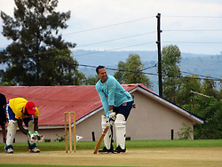 "BEST QUALITY AVAILABLE Former England captain Michael Vaughan takes part in a celebrity T20 match following the official opening of a new cricket stadium in Kigali, Rwanda, which has been dubbed the ""Lord's of East Africa""."