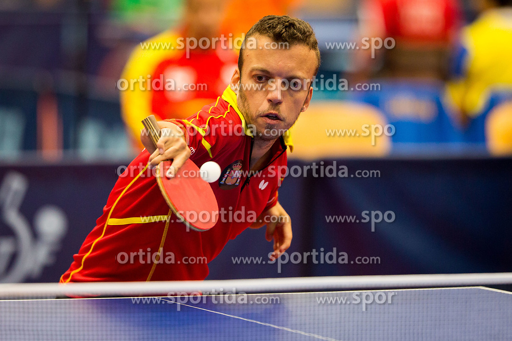 SEOANE ALCAZAR Alberto during day 1 of 15th EPINT tournament - European Table Tennis Championships for the Disabled 2017, at Arena Tri Lilije, Lasko, Slovenia, on September 28, 2017. Photo by Ziga Zupan / Sportida