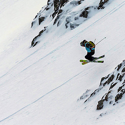 Roddy Hamilton in action on the Flypaper at the Freeride World Tour Coe Cup in Glencoe (c) ROSS EAGLESHAM | Sportpix.co.uk