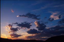 BRYCE CANYON, UTAH - Sky over Bryce Canyon. (Photo © Jock Fistick)