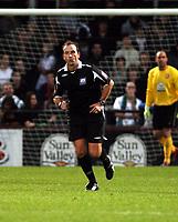 Photo: Mark Stephenson/Sportsbeat Images.<br /> Hereford United v Darlington. Coca Cola League 2. 03/11/2007.Referee Mr M Russell