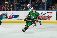 KELOWNA, BC - JANUARY 19: Brett Leason #20 of the Prince Albert Raiders skates against the Kelowna Rockets  at Prospera Place on January 19, 2019 in Kelowna, Canada. (Photo by Marissa Baecker/Getty Images)***Local Caption***