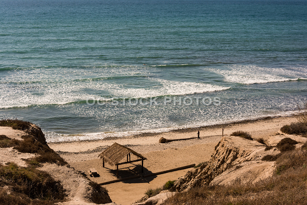 Old Man's Surfing Area At San Onofre State Beach