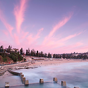 Coogee ocean pool during sunrise<br /> 11/10/2015<br /> ph. Andrea Francolini