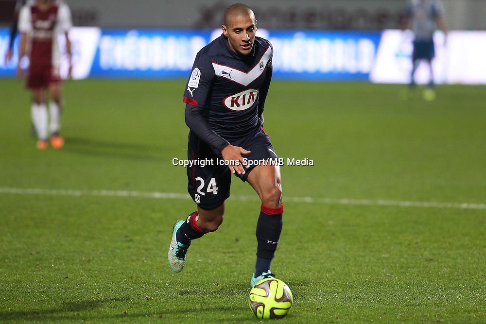 Wahbi KHAZRI - 03.12.2014 - Metz / Bordeaux - 16eme journee de Ligue 1 -<br />Photo : Fred Marvaux / Icon Sport