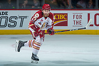 REGINA, SK - MAY 22: Ethan Crossman #27 of Acadie-Bathurst Titan skates against the Hamilton Bulldogs at the Brandt Centre on May 22, 2018 in Regina, Canada. (Photo by Marissa Baecker/CHL Images)