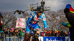 Zdenek STYBAR (40, CZE) 2nd lap at Men UCI CX World Championships - Hoogerheide, The Netherlands - 2nd February 2014 - Photo by Pim Nijland / Peloton Photos