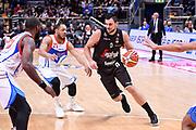 Alessandro Gentile<br /> Virtus Segafredo Bologna - Red October Cantu<br /> LegaBasket Serie A 2017/2018<br /> Bologna, 07/04/2018<br /> Foto M.Ceretti / Ciamillo - Castoria