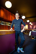 Normand Laprise, Chef du restaurant montréalais Toque, Montréal, Québec