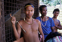 Murut Hill tribe. Sabah, Malaysia. Borneo<br />