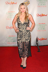Celebrities attend the premiere of 'Dolly Parton's Christmas of Many Colors: Circle of Love' at Dollywood in Tennessee, TN. 22 Nov 2016 Pictured: Natalie Alyn Lind. Photo credit: American Foto Features / MEGA TheMegaAgency.com +1 888 505 6342