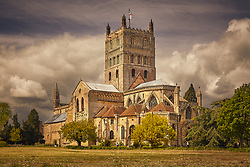 Tewkesbury Abbey, Gloucestershire, UK