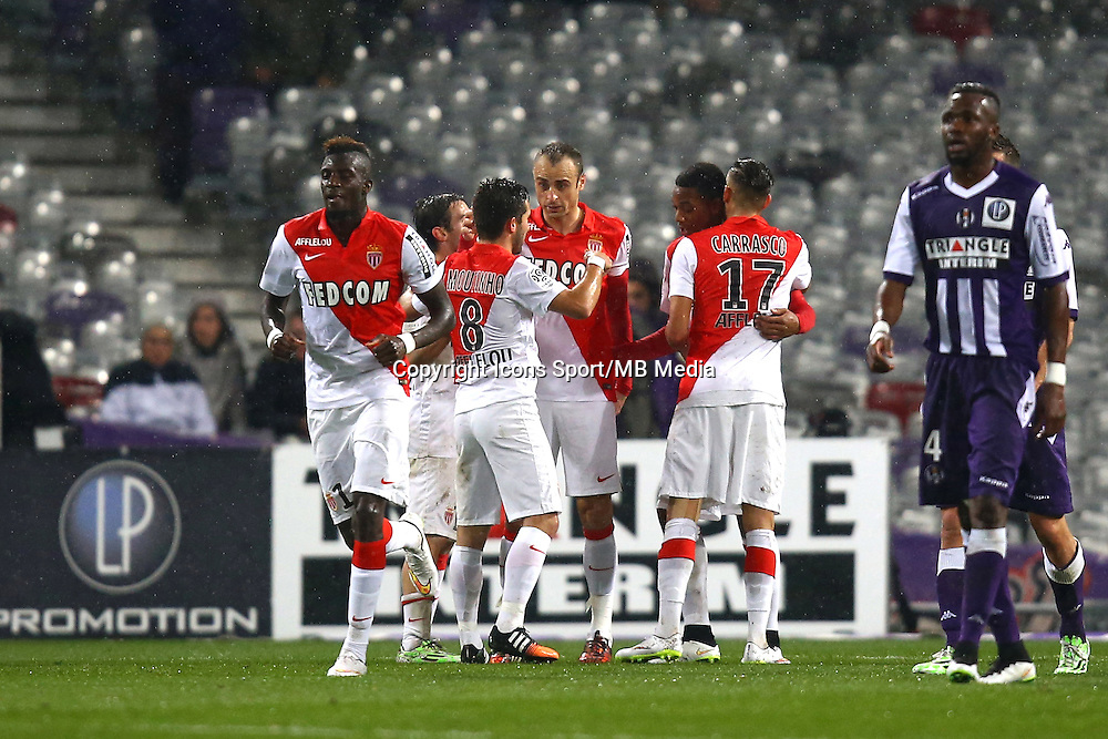 Joie Monaco - Dimitar Berbatov - 05.12.2014 - Toulouse / Monaco - 17e journee Ligue 1<br />