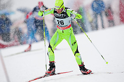 Barbara Jezersek of Slovenia during women 9 km pursue race at the cross country Tour de Ski 2014 of the FIS cross country World cup competition on January 5th, 2014 in Alpe Cermis, Val di Fiemme, Italy. (Photo by Urban Urbanc / Sportida)