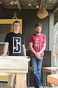 Will and Mike of Five Fork Studios