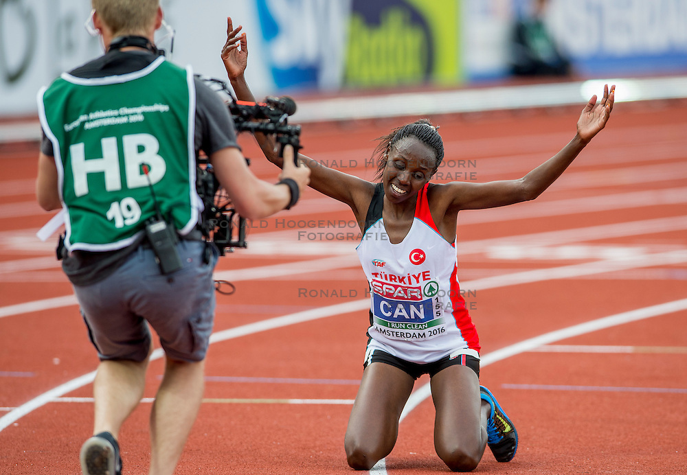06-07-2016 NED: European Athletics Championships, Amsterdam<br /> Yasmin Can TUR
