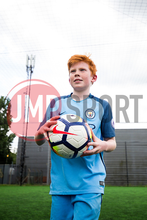 Bristol Rovers Premier League Kicks holiday camp attendees use Nike footballs with the new 2017/18 Premier League design - Rogan Thomson/JMP - 01/06/2017 - FOOTBALL - Horfield Leisure Centre - Bristol ,England.