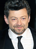 LONDON - DECEMBER 12: Andy Serkis attended the Royal Film Performance 2012 of 'The Hobbit: An Unexpected Journey' at the Odeon Cinema, Leicester Square, London, UK. December 12, 2012. (Photo by Richard Goldschmidt)