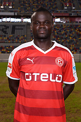 02.07.2015, Esprit Arena, Duesseldorf, GER, 2. FBL, Fortuna Duesseldorf, Fototermin, im Bild Didier Ya Konan ( Fortuna Duesseldorf / Portrait ) // during the official Team and Portrait Photoshoot of German 2nd Bundesliga Club Fortuna Duesseldorf at the Esprit Arena in Duesseldorf, Germany on 2015/07/02. EXPA Pictures &copy; 2015, PhotoCredit: EXPA/ Eibner-Pressefoto/ Thienel<br /> <br /> *****ATTENTION - OUT of GER*****