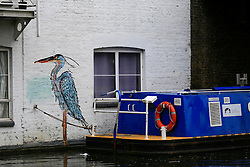 UK ENGLAND LONDON 2MAY16 - Wall art along the Grand Union Canal near Little Venice, Maida Vale, west London.<br /> <br /> jre/Photo by Jiri Rezac<br /> <br /> © Jiri Rezac 2016