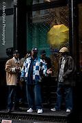 Singers in Soho, New York