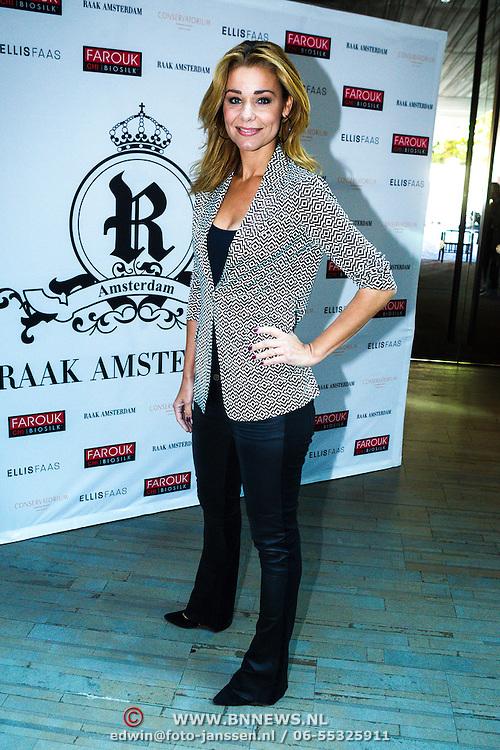 NLD/Amsterdam/20130916 -  Modeshow Jos Raak in het Conservatorium hotel, Froukje de Both