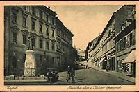 Zagreb : Mesnička ulica i Kačićev spomenik. <br /> <br /> ImpresumZagreb : Naklada Rudolf Polaček, 1925.<br /> Materijalni opis1 razglednica : tisak ; 9,1 x 13,9 cm.<br /> NakladnikRudolf Polaček<br /> Mjesto izdavanjaZagreb<br /> Vrstavizualna građa • razglednice<br /> ZbirkaGrafička zbirka NSK • Zbirka razglednica<br /> Formatimage/jpeg<br /> PredmetZagreb –– Mesnička ulica<br /> SignaturaRZG-MESN-8<br /> Obuhvat(vremenski)20. stoljeće<br /> NapomenaRazglednica nije putovala. • Spomenik fra Andriji Kačiću Miošiću, pučkom pjesniku i fratru, rad kipara Ivana Rendića, svečano je otkriven na početku Mesničke ulice, za trajanja Jubilarne gospodarske izložbe u Zagrebu 1891. g.<br /> PravaJavno dobro<br /> Identifikatori000954892<br /> NBN.HRNBN: urn:nbn:hr:238:842337 <br /> <br /> Izvor: Digitalne zbirke Nacionalne i sveučilišne knjižnice u Zagrebu