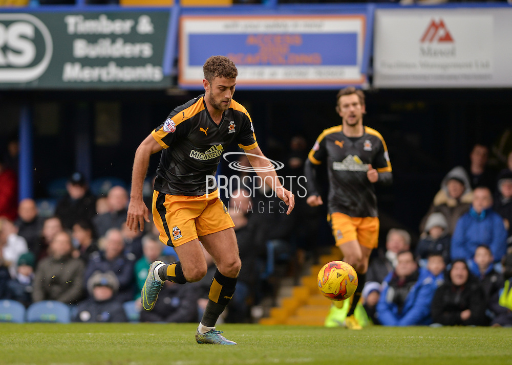 Cambridge United Forward Ben Williamson during the Sky Bet League 2 match between Portsmouth and Cambridge United at Fratton Park, Portsmouth, England on 27 February 2016. Photo by Adam Rivers.