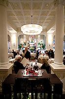 The dining room of the three star Michelin Restaurant Daniel, of Daniel Boulud, New York City