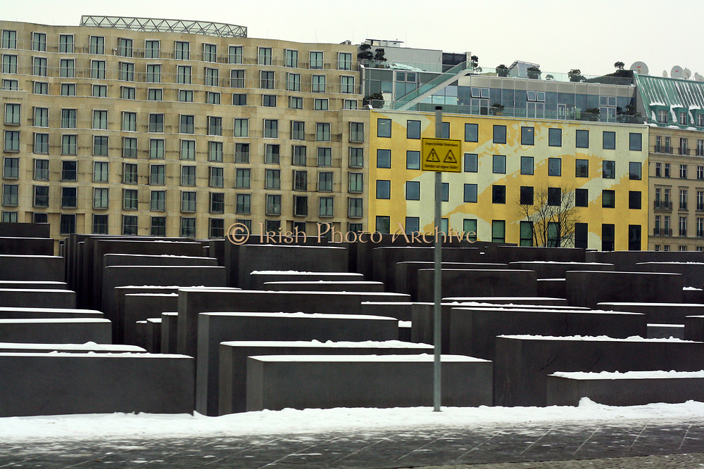 Holocaust memorial Berlin The Memorial to the murdered Jews of Europe, is a memorial in Berlin to the Jewish victims of the Holocaust, designed by architect Peter Eisenman and engineer Buro Happold.
