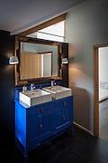 norwich norfolk house interior architecture blue bathroom