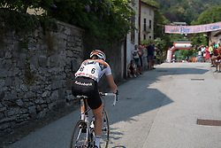On the final climb Thalita de Jong of Rabo Liv attacked. Going solo over the final GPM of the Giro Rosa 2016. It was a downhill all the way for the Dutchwoman's first stage win at the Giro Rosa.