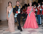 50th Birthday Gala Banquet For Crown Prince Frederik
