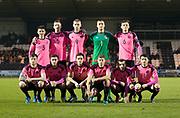 Scotland team - Scotland under 21s v Estonia international challenge match at St Mirren Park, St Mirren. Pic David Young<br />  <br /> - © David Young - www.davidyoungphoto.co.uk - email: davidyoungphoto@gmail.com