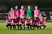Scotland team - Scotland under 21s v Estonia international challenge match at St Mirren Park, St Mirren. Pic David Young<br />  <br /> - &copy; David Young - www.davidyoungphoto.co.uk - email: davidyoungphoto@gmail.com