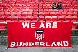 General View of a supporters flag inside the stadium - Photo mandatory by-line: Rogan Thomson/JMP - 07966 386802 - 04/01/2015 - SPORT - FOOTBALL - Sunderland, England - Stadium of Light - Sunderland v Leeds United - FA Cup Third Round Proper.