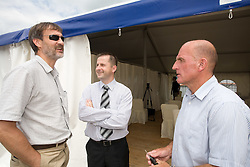 Dane Jost, Ales Remih, Coach of NK Olimpija Brane Oblak at open door day 1 year before opening of new football stadium and sports hall in Stozice,  on June 30, 2009, at Stadium Stozice, Ljubljana, Slovenia. (Photo by Vid Ponikvar / Sportida)