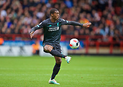 SHEFFIELD, ENGLAND - Thursday, September 26, 2019: Liverpool's Georginio Wijnaldum during the FA Premier League match between Sheffield United FC and Liverpool FC at Bramall Lane. (Pic by David Rawcliffe/Propaganda)
