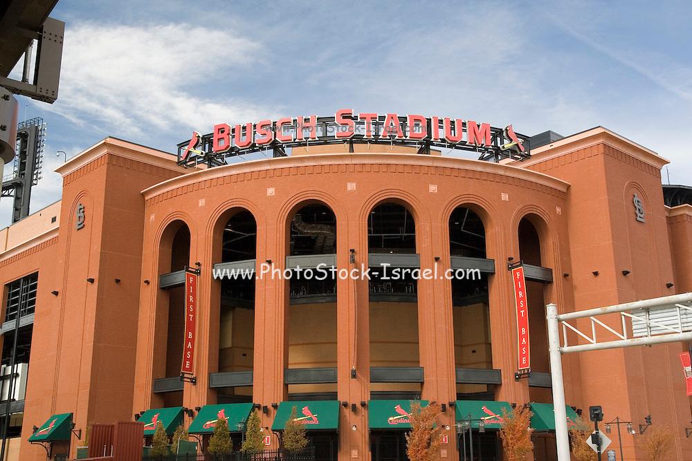 St. Louis Missouri MO USA, Busch Stadium home of St. Louis baseball team the Cardinals 2006 World Series Champions October 2006