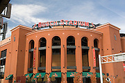 St. Louis Missouri MO USA, Busch Stadium home of St. Louis baseball team the Cardinals 2006 World Series Champions October 2006