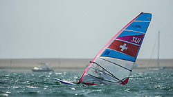 2012 Olympic Games London / Weymouth<br /> Stauffacher Richard, (SUI, RS:X Men)