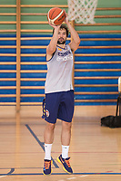 Sergio Llull during the Spain training session before EuroBasket 2017 in Madrid. August 02, 2017. (ALTERPHOTOS/Borja B.Hojas)