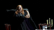 The Force of Destiny <br /> by Verdi <br /> English National Opera and the London Coliseum, London, Great Britain <br /> rehearsal<br /> 6th November 2015 <br /> <br /> <br /> Tamara Wilson as Donna Leonora di Vargas<br /> <br /> <br /> <br /> Photograph by Elliott Franks <br /> Image licensed to Elliott Franks Photography Services